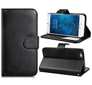 4.7 '' faux cas flip en cuir avec support de montage & fentes de carte de crédit pour iphone 6 (couleurs assorties)