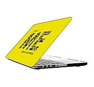 sin mí diseño de la caja de plástico de protección de cuerpo completo de 13 pulgadas / 15 pulgadas macbook-pro con pantalla retina
