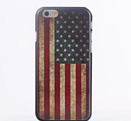 American Flag Pattern TPU Soft Cover for iPhone 6