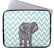 """elonbo böhmischen Streifen und Elefanten 15 """"Notebook Neopren Schutzhülle für MacBook Pro Retina dell hp acer"""