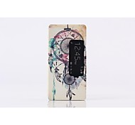 Fashion design Leather Wallet Case with Stand and Card Slot for Huawei Ascend P7