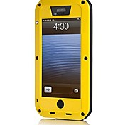 Elivebuy Metal The Best Protective And Special-Design Case/Cover for Iphone 5,5s Waterproof (Assorted Colors)