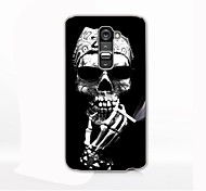 A Skeleton Smoking Design Hard Case for LG G2