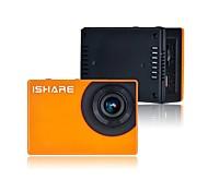 control remoto ts601w FHD 1080p CMOS 5,0 MP wi-fi cámara dv deportes para el teléfono / tablet - naranja