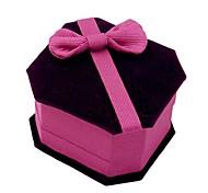 joyería exquisita caja comodo moda 6.5 * 6.0 * 4.5 de lujo