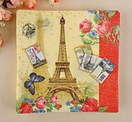 Eiffel Tower Pattern Napkins(Set of 20)