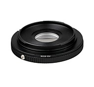 FD-EOS Mount Adapter Canon FD Lens to EOS EF Body 7D 550D  1000D 450D 400D 350D 10D With Glass Focus to Infinity