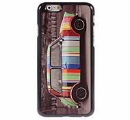 caso duro del coche del diseño de aluminio fresco para el iphone 6
