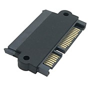 SATA 22 Pin 7+15 Pin Male Plug to SATA 22P 7+15P Female Jack Convertor Adapter