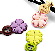 Lucky Clover Cartoon Earphone Cable Wire Cord Organizer Cable Winder