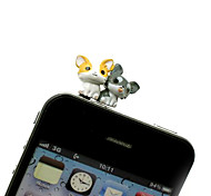 Chihuahua Dog Shaped 3.5mm Earphone Jack Anti-dust Plug for iPhone , iPad , Samsung & Others Smart Phone