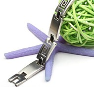 Men's Fashion Personality Titanium Steel Hollow Bracelets