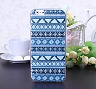 National Style Abstract Geometric H Pattern TPU Soft Case for iPhone 6