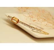 Fashion Korean Champagne White Gold Plated Hairpins Jewelry for Women in Jewelry
