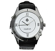 Iradish I500 Quartz Watch Phone GPS Tracker PTT Mobile SOS for Senior Guardian