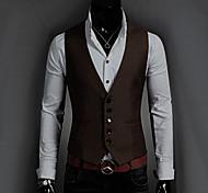 Men's Fashion Casual Slim Suits Vest Jacket
