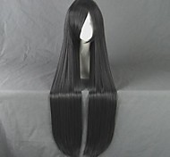 Kimi ni Todoke Kuronuma Sawako Long Straight Black Gray Cosplay Wig