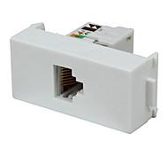 red de líneas de tarjeta de red rj45 módulo del panel de enchufe para ordenador biqio n86-606