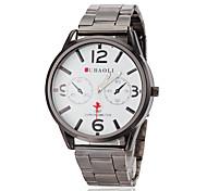 JUBAOLI® Men's Plane Pointer Steel Band Quartz Wrist Watch (Assorted Colors) Cool Watch Unique Watch