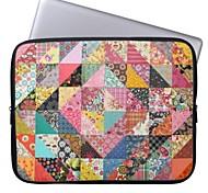 """elonbo böhmischen Diamond Flower 15 """"Notebook Neopren Schutzhülle für MacBook Pro Retina dell hp acer"""
