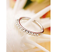 Fashion Korean OL Pearl Ring for Women ,Men Jewelry Gift
