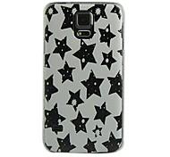 étui rigide étoiles de modèle de conception pour les i9600 Samsung Galaxy S