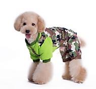 pet Mode Magie Tarnung vier Füßen Baumwolle gepolstert Kleidung für Haustiere Hunde (verschiedene Farben, Größen)