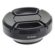 Visera del objetivo gran angular de 40.5mm de metal para Sony sel 16-50 / nex-6 / nikon v1
