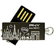 pny encantadora paris agregado torre Eiffel unidad flash usb 32gb