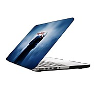 el diseño joker de cuerpo completo estuche protector de plástico para 13 pulgadas / macbook-pro con pantalla retina de 15 pulgadas