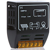 cmp12 10a 12v / 24v regolatore di carica solare regolatore di controllo della batteria pannello solare