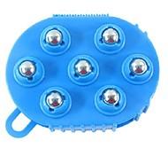 портативный лимфатических перчатка мяч типа похудения дымоход основной и побочные каналы массажер
