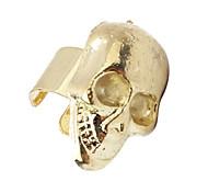 European Style Alloy Punk Skull Clip Earring(Random Color)