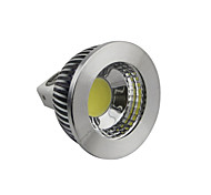 5W GU5.3(MR16) Focos LED 1 COB 400-450LM lm Blanco Natural Regulable DC 12 V
