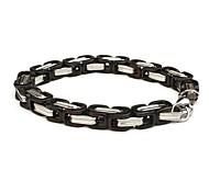 Men's Fashion Personality Blacks Titanium Steel Bracelets