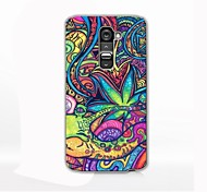 Colorful Oil Painting Design Hard Case for LG G2