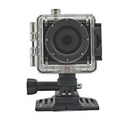 TS700 1.77 5MP CMOS 1080P HD 140 Degree 30m Waterproof Sports Cycling Diving DVR HDMI / TF - Black