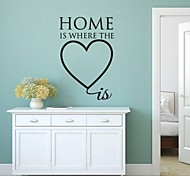 JiuBai® Home Quote Wall Sticker Wall Decal
