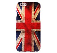 Hi-Q  UK Flag Water Decals Pattern TPU Soft Case for iPhone6