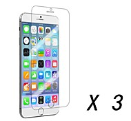 3 pcs High Definition Front Screen Protector for iPhone 6S/6