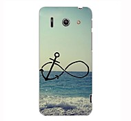 Anchor and Beach Design Hard Case for HuaWei G510