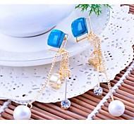 Love Is Your Fashion Zircon Pearl Earrings
