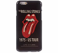 The Rolling Stones Design Aluminum Hard Case for iPhone 6