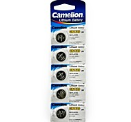 Camelion 3V CR1620 Lithium Button Battery (5pcs)