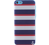 Stripe Pattern PC Hard Case for iPhone 5C