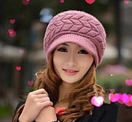 Outdoor Women's Fashion Thickening Warm Cap