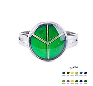 Peace Sign Mood Ring