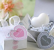 Holiday Gifts Mini Heart-shaped Shape Soap (Random Color)