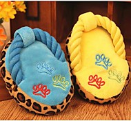 Lureme Slippers Voice Toys for Pets Dogs(Random Color)