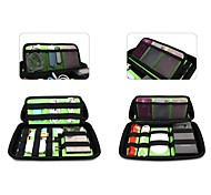 EVA Portable Storage Organizer Bag for iPhone Samsung Cables Earphone Accessories Hard Flash Drivers(Assorted Colors)